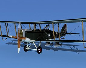 Airco DH-4 V04 Bomber USASC 3D