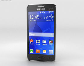 Samsung Galaxy Core II Black 3D model