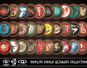 3D model Hoplite Shield Ultimate Collection