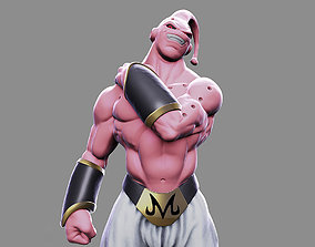 Super Buu - Fan Art 3D printable model