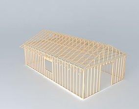 Framed House 3D