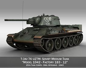 T-34-76 UZTM - Model 1942 - Soviet tank - 12