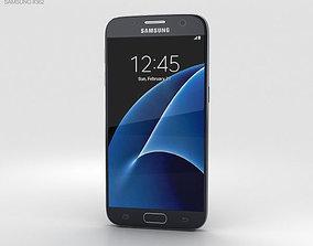 Samsung Galaxy S7 Black 3D