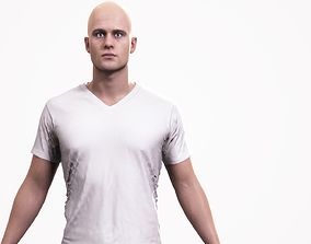3D asset Human Male Scan - 190M