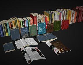 books storage 3D model