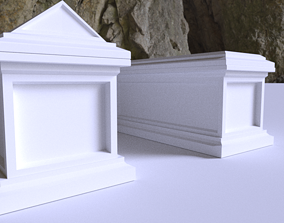 3D LowPoly Tomb VR / AR ready