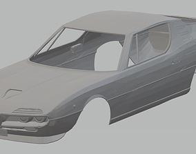 Alfa Romeo Montreal 1967 Printable Body Car