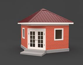 outdoor Alcove 3D model