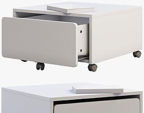 3D model Ikea Slakt Storage box with casters