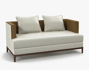 Christian Liaigre chamois sofa 3D