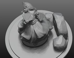 Avatar Kyoshi from the last airbender 3D printable model