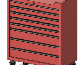 3D print model Garage tool box M diy