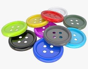 Buttons ornamentation 3D