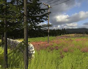 3D model Rural Environment Pack