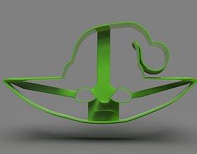 Baby Yoda Head Cookie Cutter X Mas 3D printable model