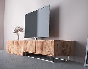 living 3D model TV Cabinet