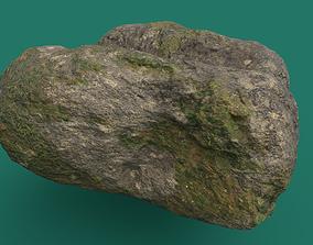 Mossy Rock 3 PBR 3D model