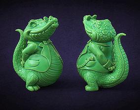 3D print model Crocodile boss