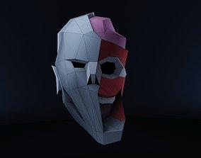 Zombie head for Halloween 3D printable model
