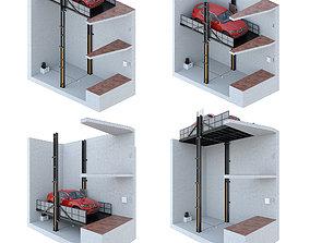 3D Car lift 2 machine