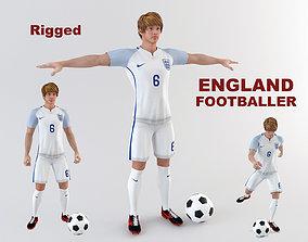 3D model England footballer