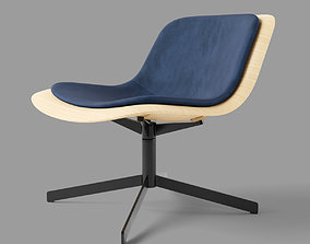 3D model Nonesuch Swivel Lounge Chair