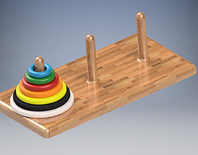 Tower of Hanoi to 3D print