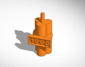 3D print model Bomb with timer