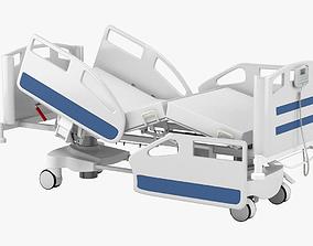 3D Hospital Bed 002