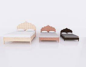 3D model Revit Family - Full scalable bed 1