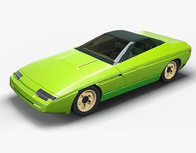 Bertone Corvette Ramarro 3D model