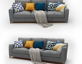 3D model Sofa Gray