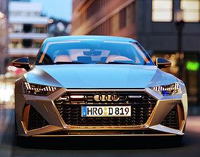 3D model sportback Audi RS7 Sportback 2020