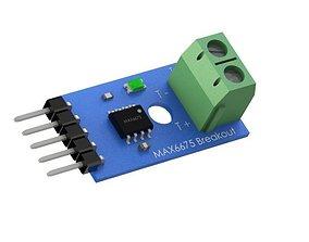 3D printable model Module Board PCB MAX6675 Thermocouple 2