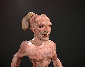 Devil 3D model animated
