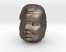 3D printable model Olmeca Head