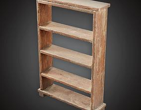 Bookshelf - MVL - PBR Game Ready 3D asset