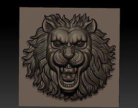 3D print model ink LION HEAD