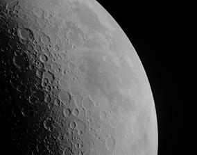Moon - Low poly 3D model