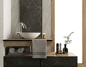 3D Furniture and decor for bathroom 12