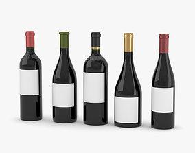 drinking Wine Bottle 3D
