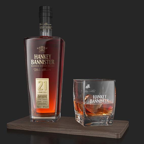 Hankey Bannister 21 YO whisky