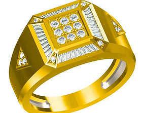 3D print model Men vintage engagement rings types of 1