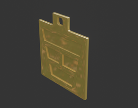 3D printable model rgd li trigram pendant mk1