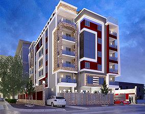 residential MODERN HOUSE 3D model