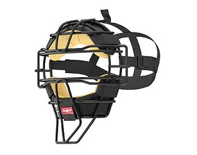 3D model Baseball Catcher Mask
