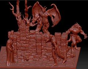 vampire dracula 3D print model