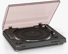 Sony PS-LX300USB Stereo Turntable 3D asset