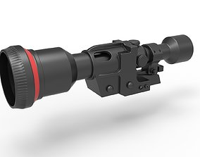 Scope from the Heavy Blaster Rifle 3D print model 3