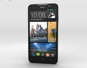 HTC Desire 516 Black 3D